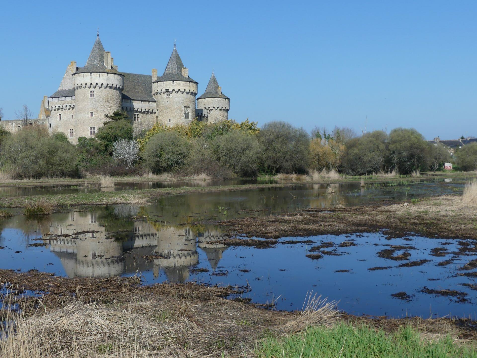 château et reflets