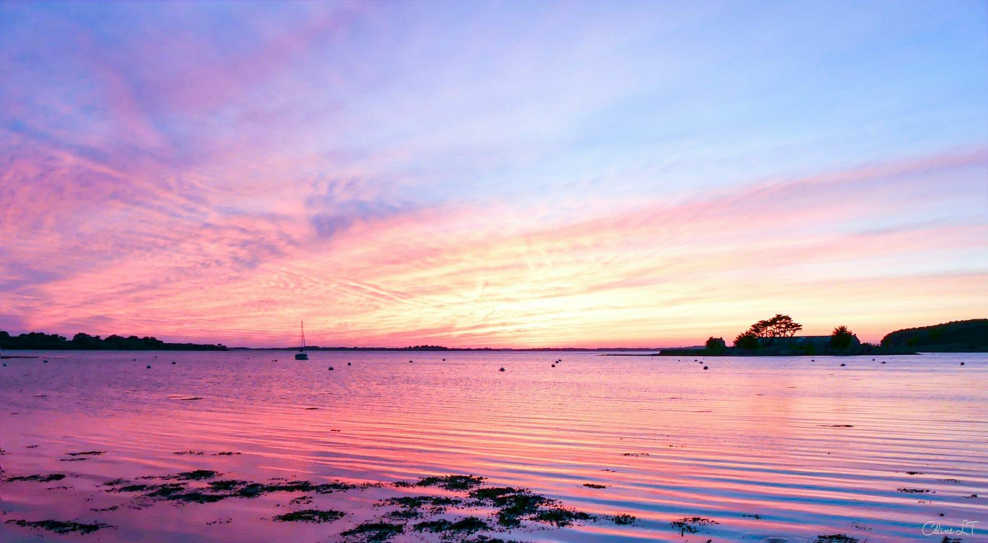 Destination le golfe du morbihan une destination plaisir en bretagne - Heure de coucher du soleil 2015 ...