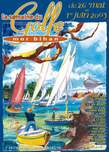 Affiche Semaine du golfe 2003