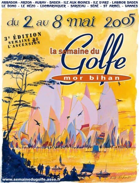 Affiche Semaine du golfe 2005
