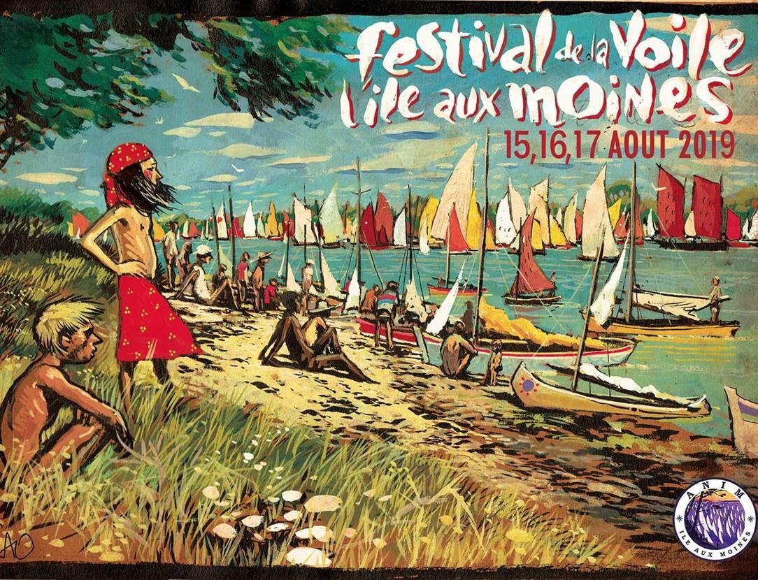 Festival de la Voile de l'Ile-aux-Moines, week-end du 15 août