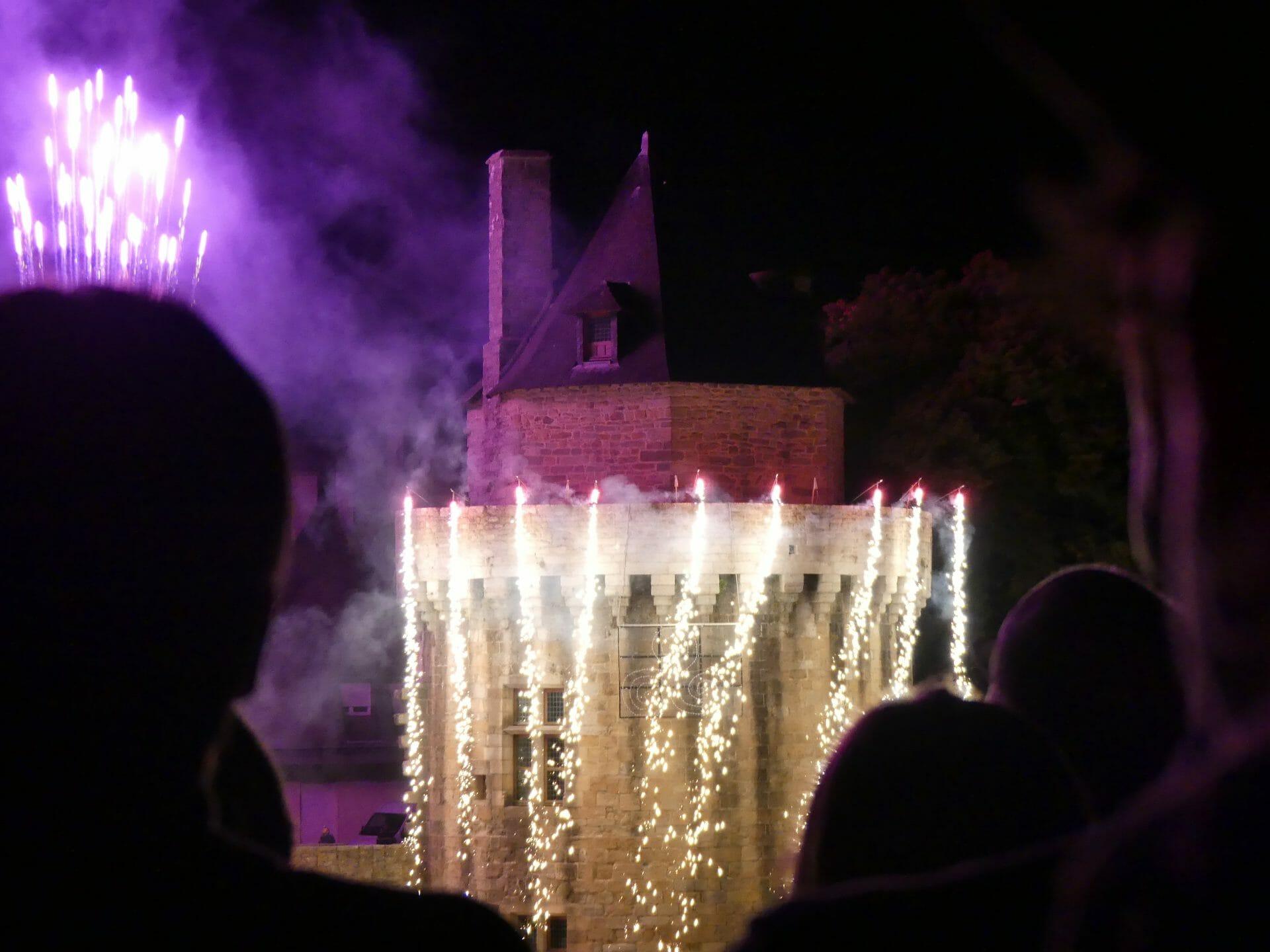 Feux d'artifice du Morbihan, 13 et 14 juillet 2021