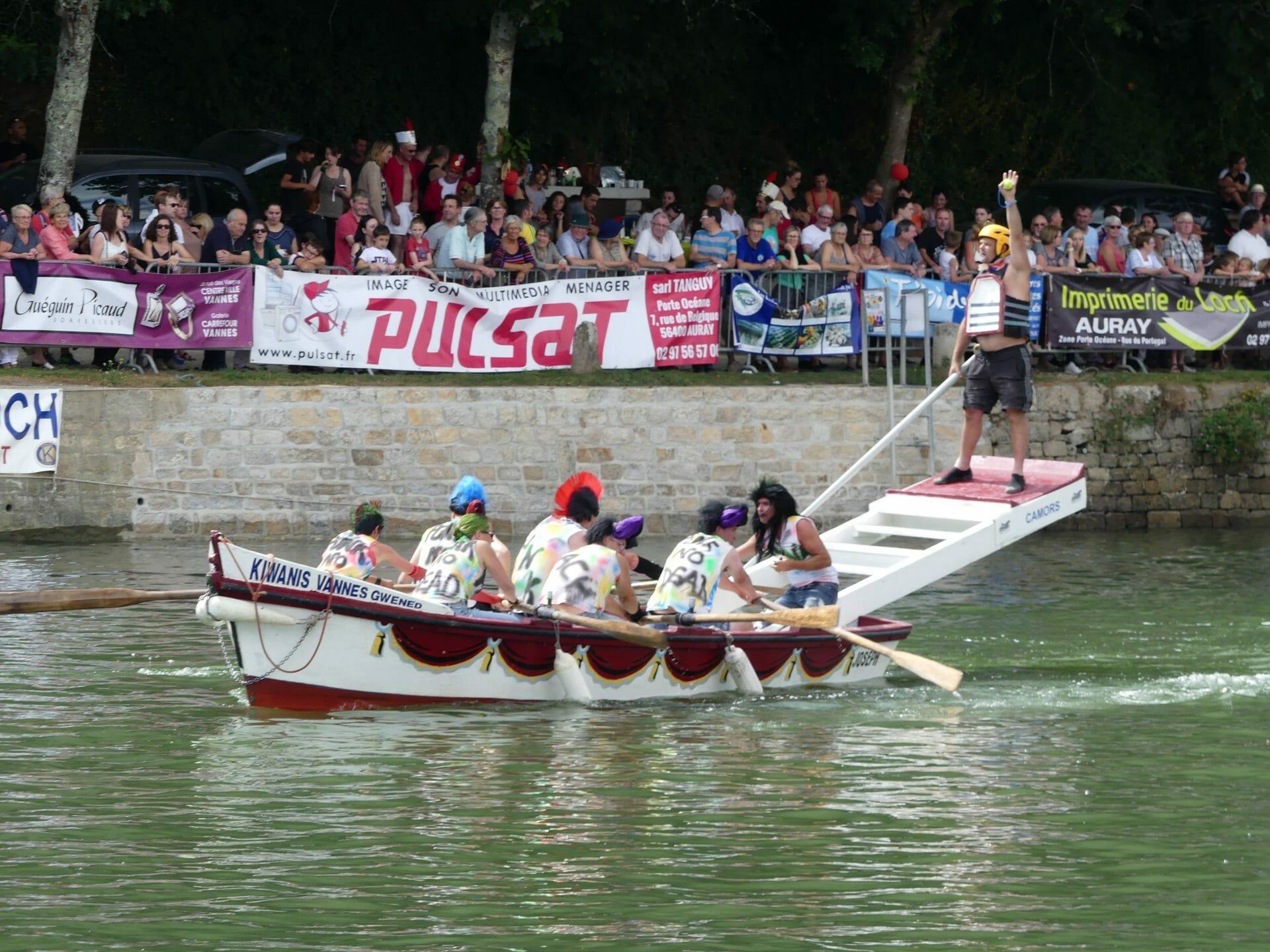 Joutes nautiques du Loch à Auray, 1er août 2021