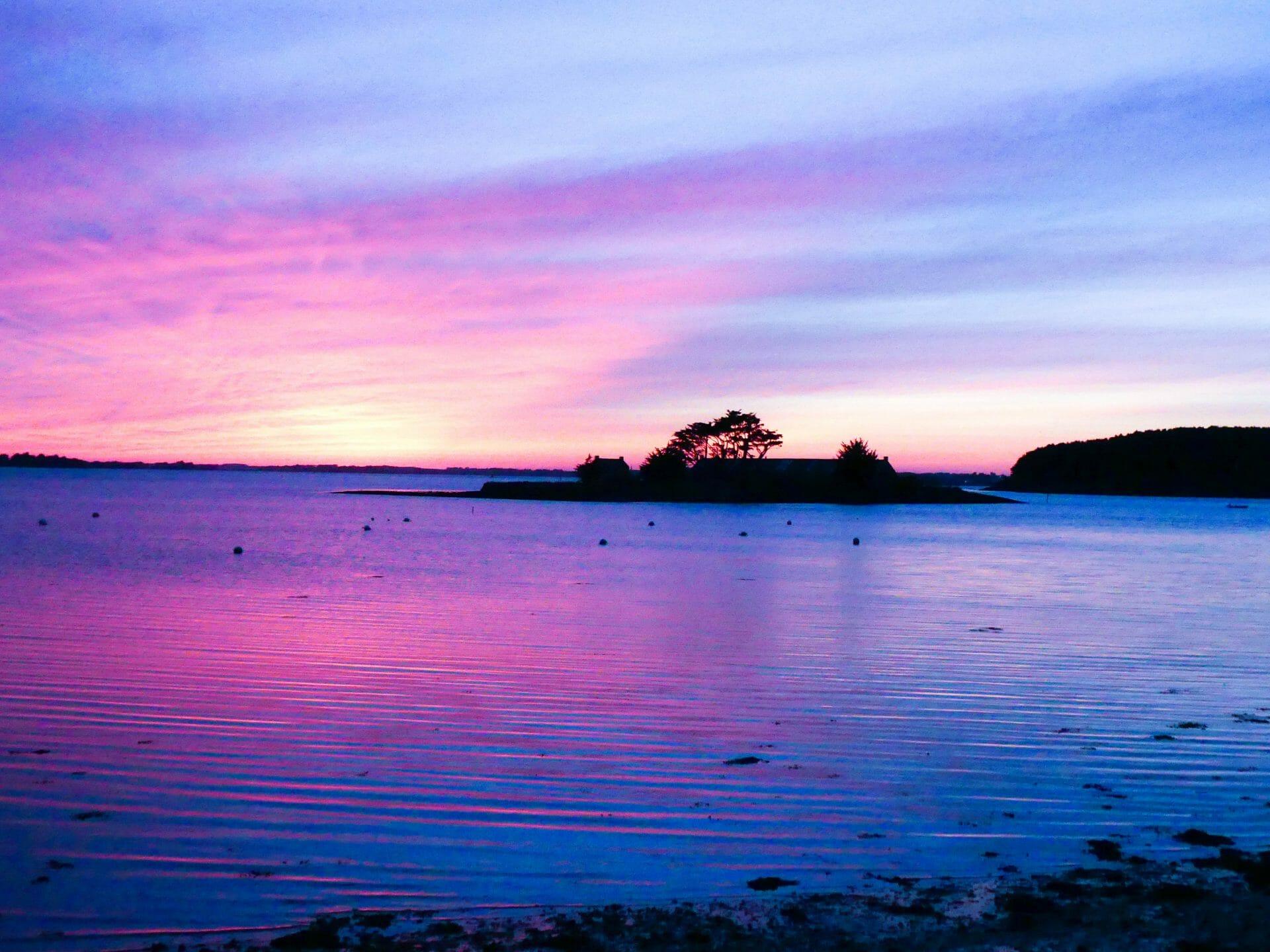 Couchers de soleil golfe du morbihan golfe du morbihan - Photos coucher de soleil ...