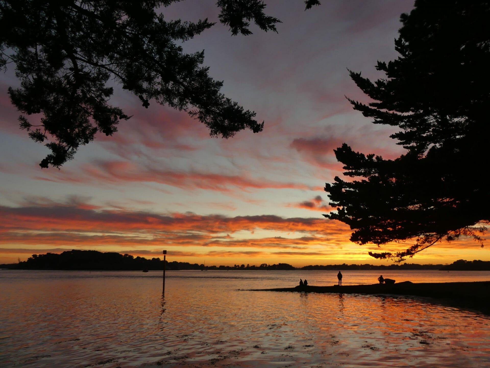 Coucher de soleil arradon morbihan golfe du morbihan - Photos coucher de soleil ...