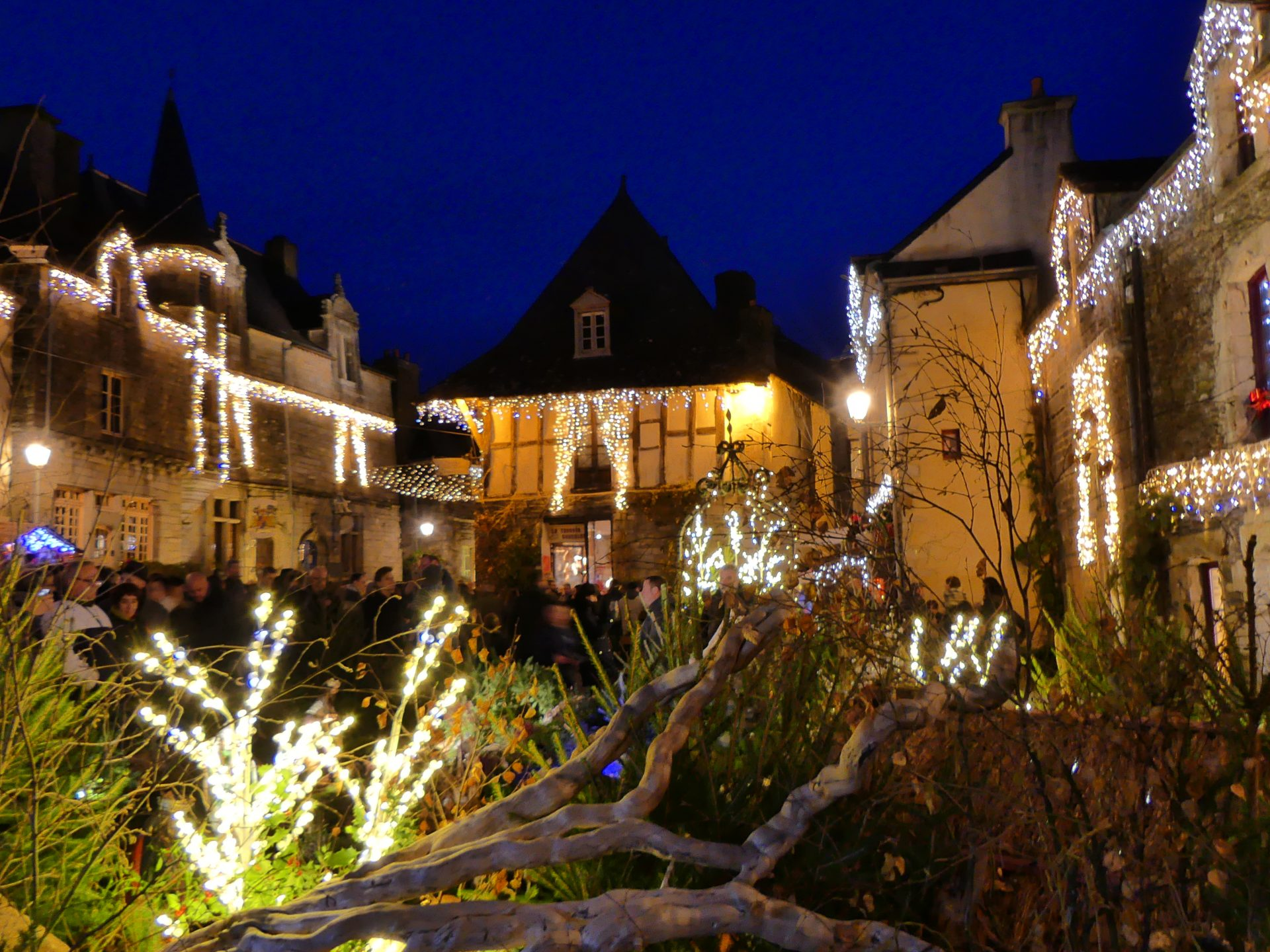 Les illuminations de Noël à Rochefort en Terre