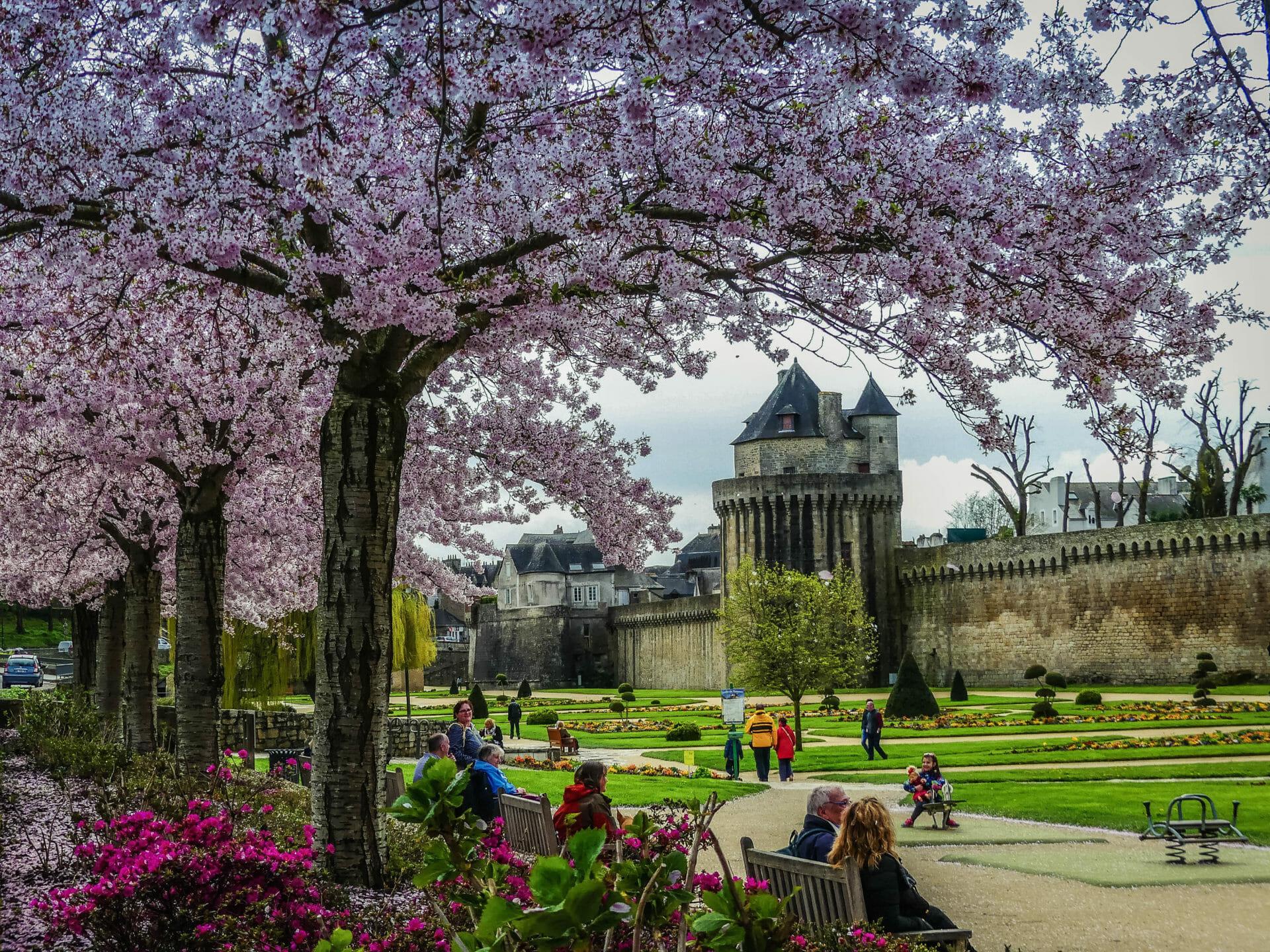 Le jardin des Remparts de Vannes & ses fleurs