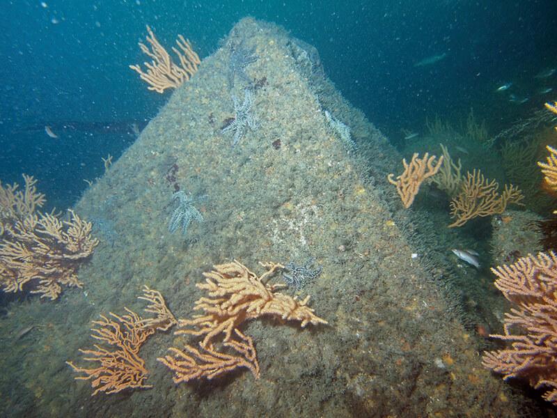 Une pyramide dans le Golfe du Morbihan en Bretagne