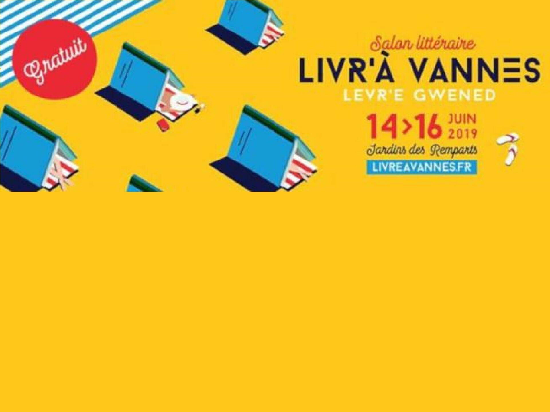 Livr'à Vannes, 4 au 6 septembre 2020