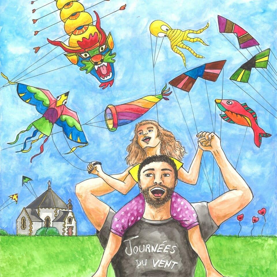 Journées du vent à Penvins, juillet 2021