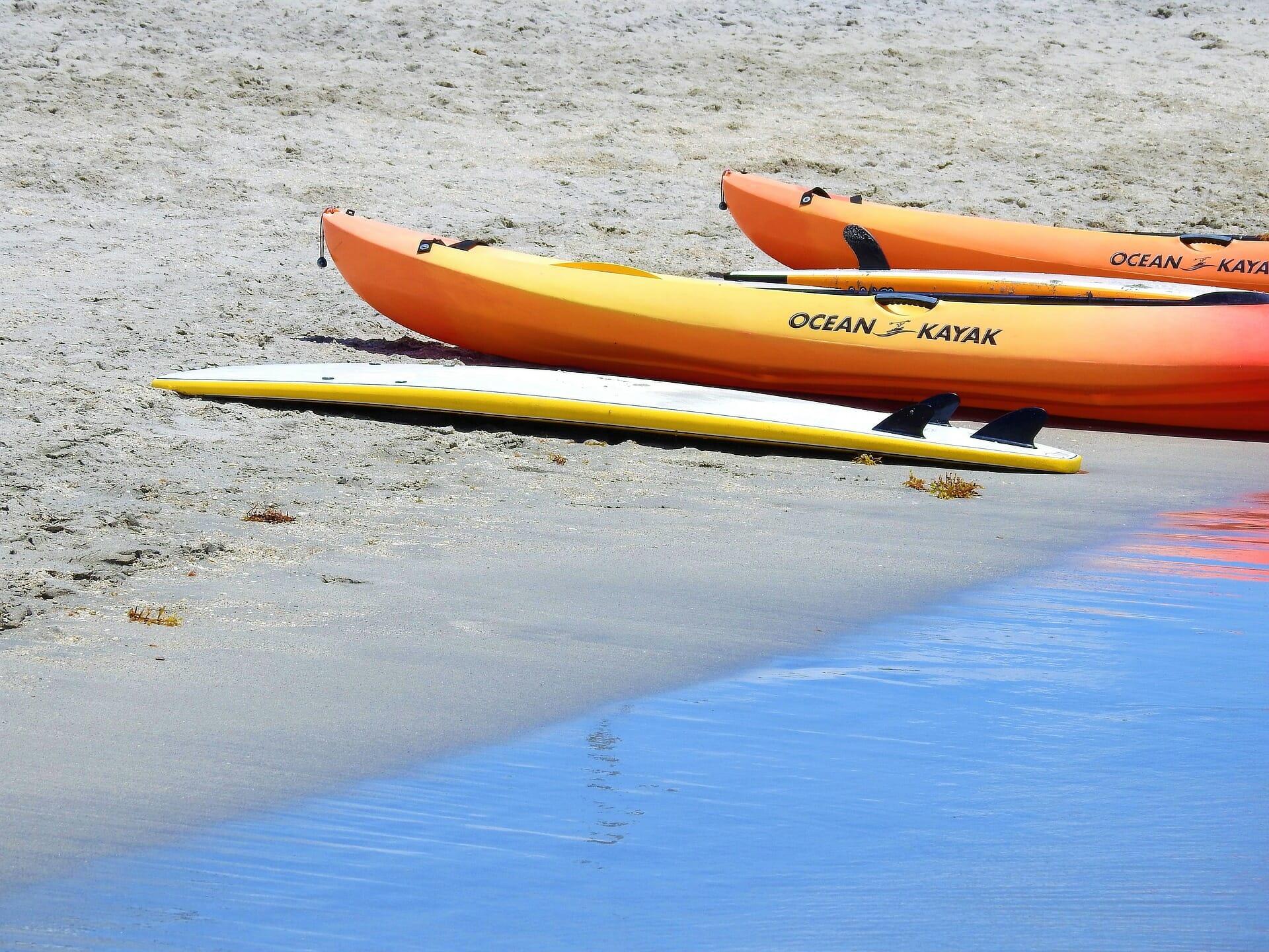 Faire du kayak dans le Golfe du Morbihan