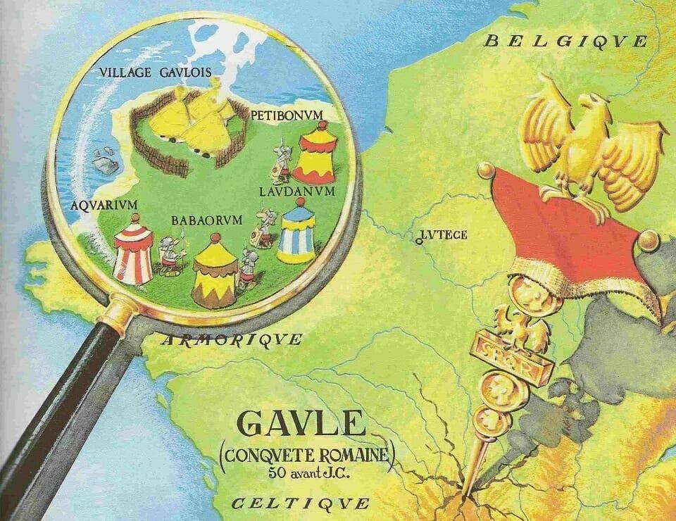 Par Toutatis, mais où est donc le village d'Astérix et Obélix?