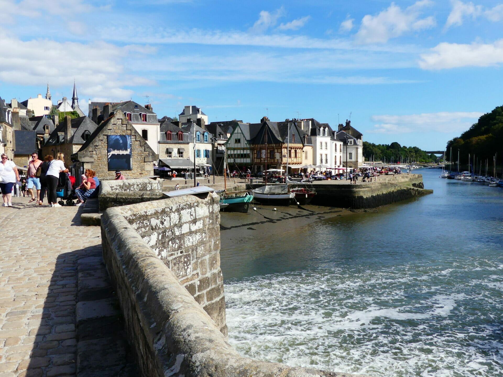 L'histoire d'Auray dans le Morbihan