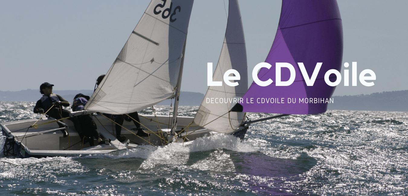 Le CDVoile 56 : Comité Départemental de Voile du Morbihan
