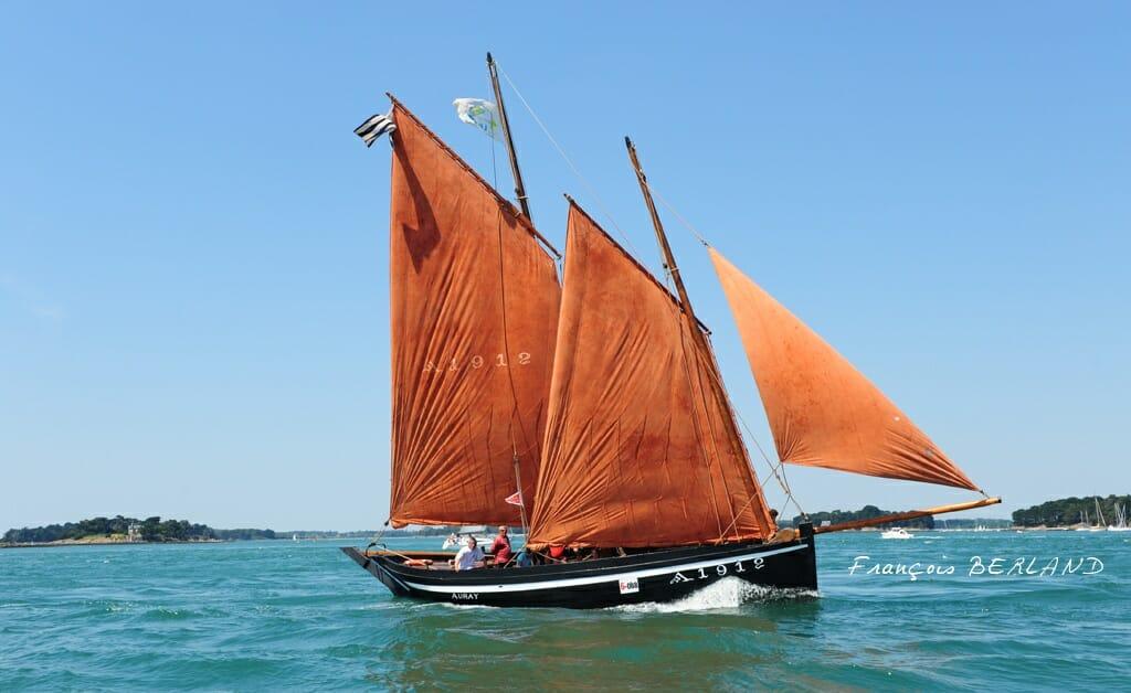 Le forban, bateau typique du Golfe du Morbihan