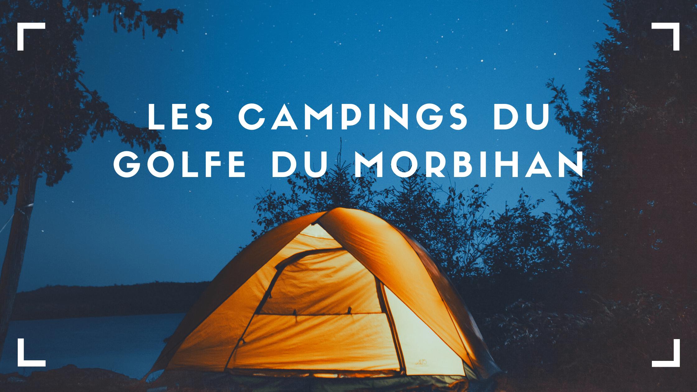 Campings du Golfe du Morbihan
