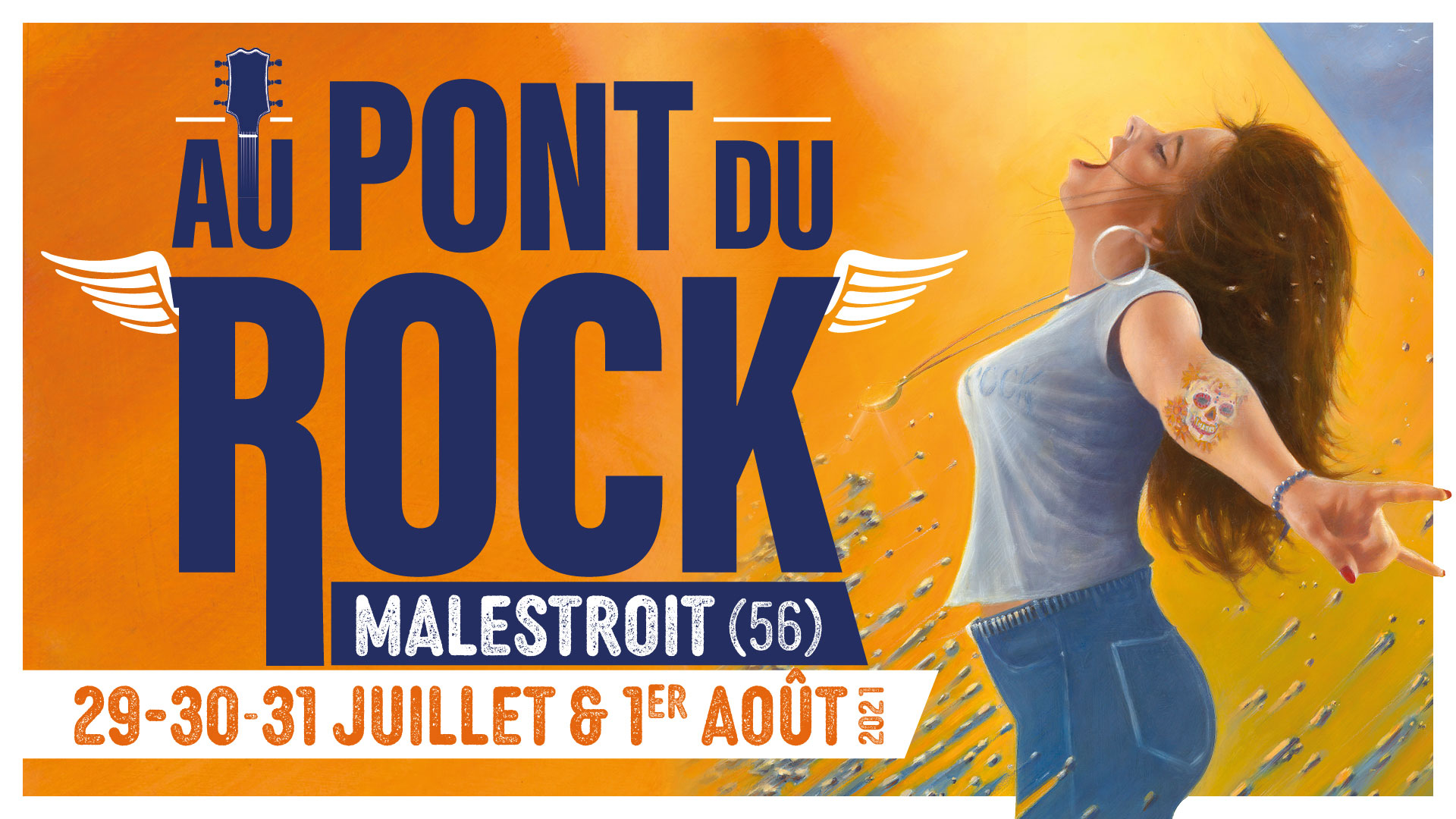 Festival Au Pont du Rock, 29, 30, 31 juillet et 1er août 2021